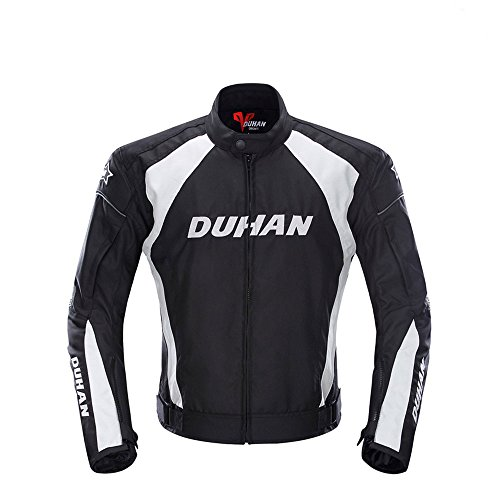 Men's Motorcycle Jacket motorbike Windproof Riding Off-Road Racing Sports Jacket Clothing With Five Protector Guards - Joe Rocket Textile Motorcycle Jacket