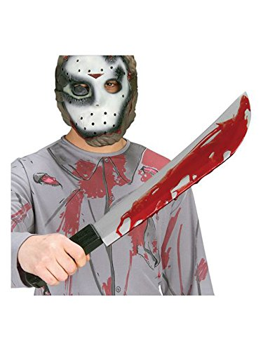 Friday The 13th Jason Voorhees Adult Machete Prop Costume Accessory]()