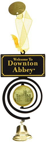 Downton Abbey Pull Bell Ornament, 4.75-Inch