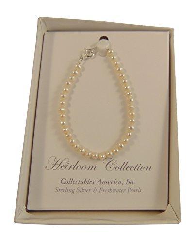 5 Strand Pearl Bracelet - Anny's Girls Freshwater Pearl Bracelet, 5 Inches