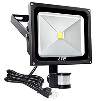 Lte 50w motion sensor flood lights outdoor security floodlight lte 50w motion sensor flood lights outdoor security floodlight waterproof ip65 cool white 6000k 4000 lumens aloadofball Gallery