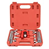 Flaring Expander Tool, 3-16mm Manual Pipe Flaring Expander Tool Copper Heads Tube Swaging Kit