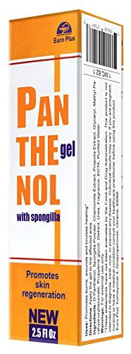 Panthenol gel with Spongilla 75ml/2.5 Fl Oz by Euro Plus