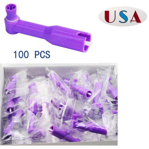 DEFEND+Plus Prophy Angles 100 per Box PA-6000- Firm (Purple) by DEFEND