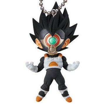 Gashapon DRAGON BALL SUPER UDM BURST 27 Black-Masked Saiyan with keychain capsule toy (Dragon Ball Z Gashapon Capsule)