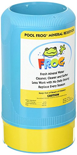 King Technology Pool Frog 6100 Replacement Mineral Reservoir Cartridge Bundled with Pool Thermometer