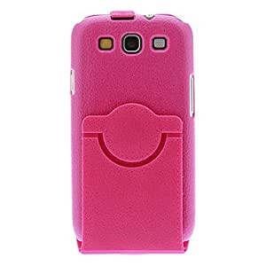 HP 360¡ãRotatable Full Body Case with Stand for Samsung Galaxy S3 I9300 (Assorted Colors) , Purple