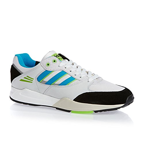 adidas Originals Tech Super - Zapatillas para hombre, color Neowhite Solblue Green, talla 41