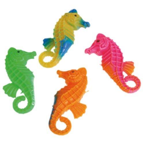 Dozen Assorted Plastic Seahorses