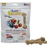 Omega Paw Health Bone Small Berry Dog Treats, 14-Ounce, My Pet Supplies