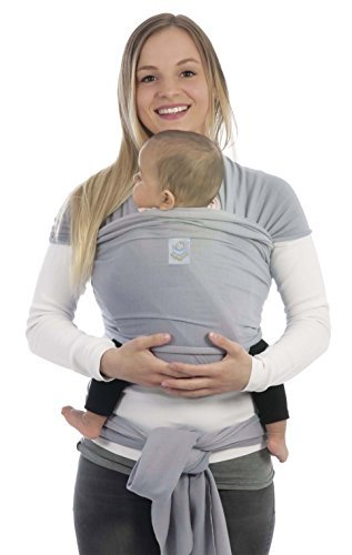 BabyBino Baby Carrier Sling Wrap Premium Quality Ergonomic Newborn Holder