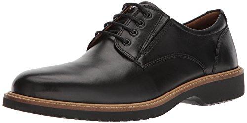 Ecco Derby - ECCO Men's Ian Casual Tie Oxford,black,46 EU/12-12.5 M US