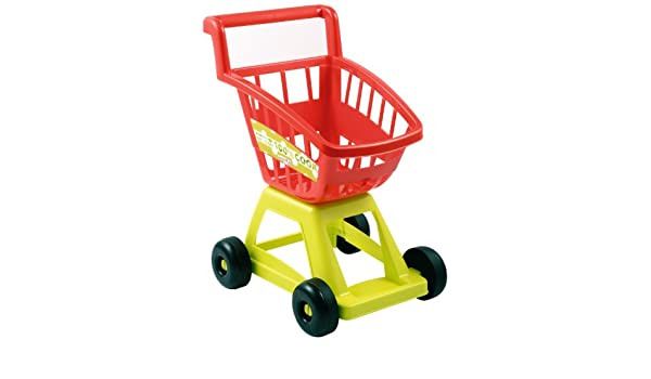 Amazon.com: Ecoiffier Imitations Empty Supermarket Trolley Toy: Toys & Games