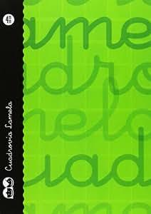 Lamela 99-N - Cuaderno con espiral, 4 mm, color verde