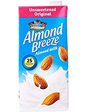 Almond Breeze Unsweetened Almond Milk, 1L