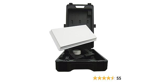 Selfsat H30D Traveller Kit - Kit con antena parabólica para camping