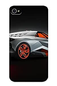 New Shockproof Protection Case Cover For Iphone 4/4s/ 2013 Lamborghini Egoista Concept Supercar Supercars Case Cover