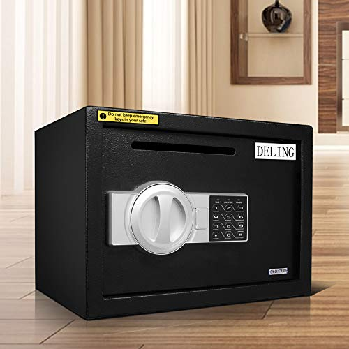HYD-Parts Digital Security Safety Box,Money Gunsafe Cabinet Box for Home Office Hotel (25) by HYD-Parts (Image #8)