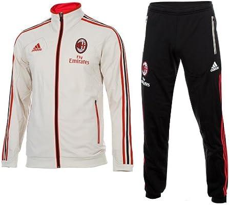 adidas - Chándal de Entrenamiento de la AC Milan 2012-13, diseño ...