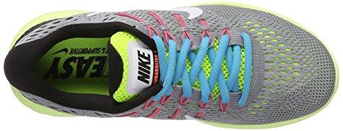 Nike Femmes Lunarglide 8 Loup Gris / Blanc Volt Chaussure De Course 6 Femmes Nous