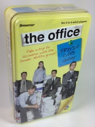 The Office Trivia Card Game - Original Edition in Tin Box -