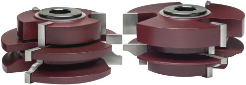- MLCS 11008 Katana Ogee Matched Rail and Stile Shaper Cutter, 2-Piece Set