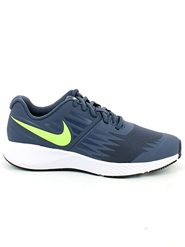 Nike PSV Star Navy Shoes Running Runner Boys' r1PCwqr