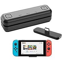 WeChip Bluetooth 5.0-adapter för Nintendo Switch/Switch Lite/PS4/PC, tunn, USB C, 2-sändning, AptX låg latens…