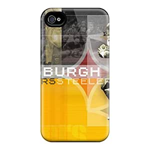 Protector Hard Phone Cover For Iphone 6plus (FNH17410jbJA) Customized Attractive Pittsburgh Steelers Pattern