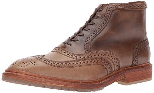 Allen Edmonds Heren Stirling Wingtip Met Perfing Detail Fashion Boot Natural Chromexcel