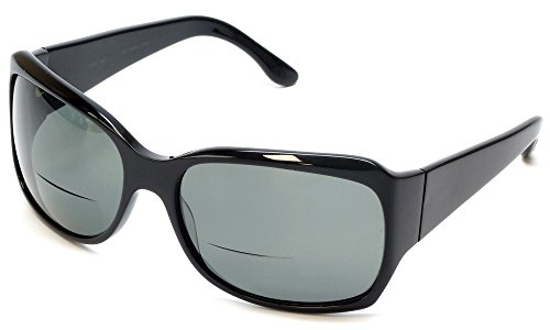Scojo Mystic Polarized Bi-Focal Reading Sunglasses in Black - Scojo Sunglasses
