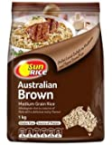Sunrice Medium Grain Brown Rice 1kg