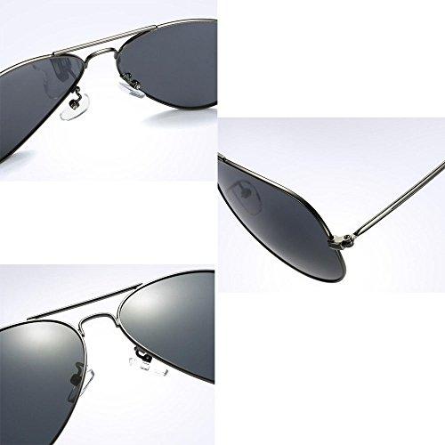 Sport hommes Frame lunettes conduite air crapaud en de Violet et les Big plein les lunettes soleil métal femmes Vogue classique soleil de en lunettes de Aviator BwqZIv6