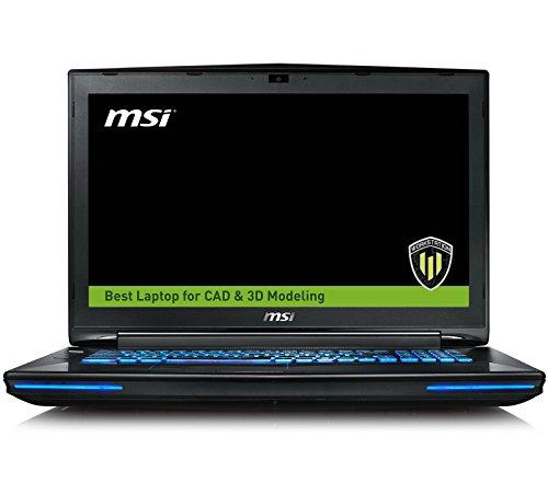 MSI WT72 6QN-219US (i7-6820HK, 64GB RAM, 256GB NVMe SSD + 1TB HDD, NVIDIA Quadro M5500 8GB, 17.3