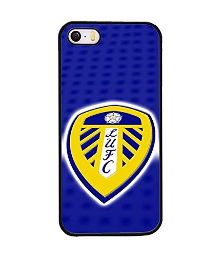 Thundergrandy - Leeds United FC Iphone 5s Custodia Case, Football Club Creative Design Scratch Resistant Prottetiva Custodia Case Cover For Iphone 5 / 5s