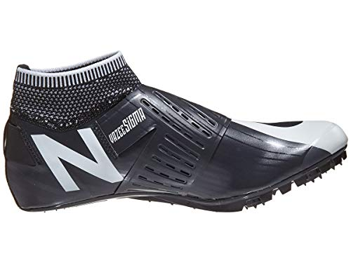 New Balance Men's Sigma V2 Vazee Track Shoe, White/Black, 4.5 D US by New Balance (Image #4)