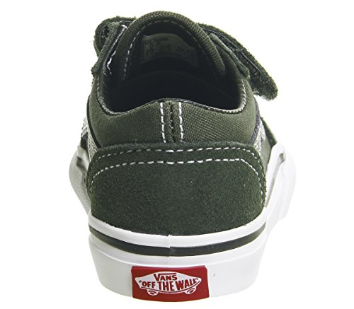 Mode Mixte Skool T Green V Army Enfant Vans Baskets Old 6Xpxx1