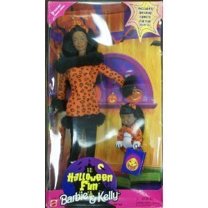 Barbie and Kelly dolls Halloween Fun giftset