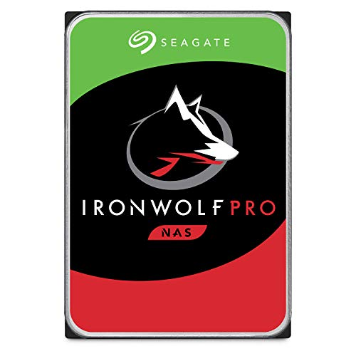 Seagate IronWolf Pro 10TB NAS Internal Hard Drive HDD - 3.5 Inch SATA 6Gb/s 7200 RPM 256MB Cache for RAID Network Attached Storage, Data Recovery Service - Frustration Free Packaging (ST10000NE0004)