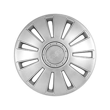 Lote de embellecedores para ruedas de 15 pulgadas 4, diseño de Audi SILVERSTONE