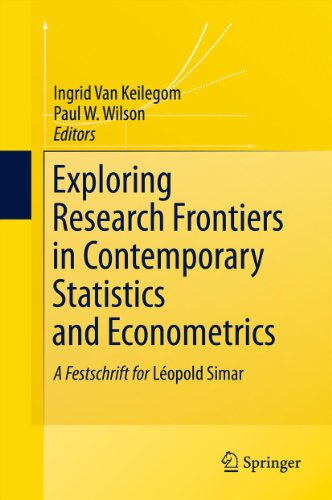 Download Exploring Research Frontiers in Contemporary Statistics and Econometrics Pdf