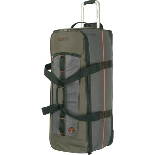 Timberland Luggage Jay Peak 32 Inch Wheeled Duffle, Burnt Olive, One Size by Timberland