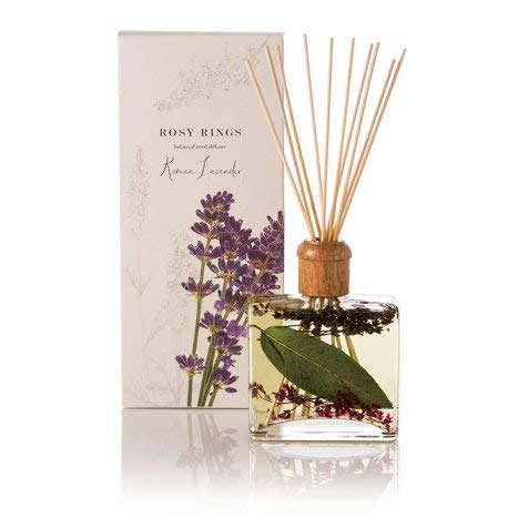 Rosy Rings Botanical Reed Diffuser - Roman Lavender