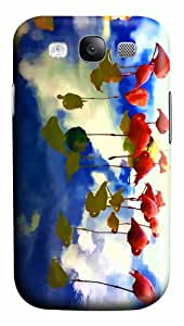 cases online abstract flamingos art flamingo on the lake PC case/cover for Samsung Galaxy S3 I9300