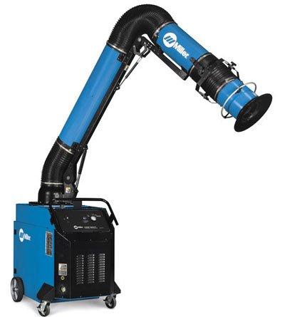 Miller Electric - 951574 - Portable Fume Extractor, FILTAIR Capture 5 Series, Input Voltage: 460V, Air Flow (CFM): 900