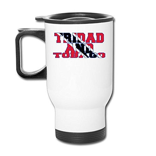 Custom Flag Of Trinidad And Tobago Handy Travel Mugs Gift By Katiydry