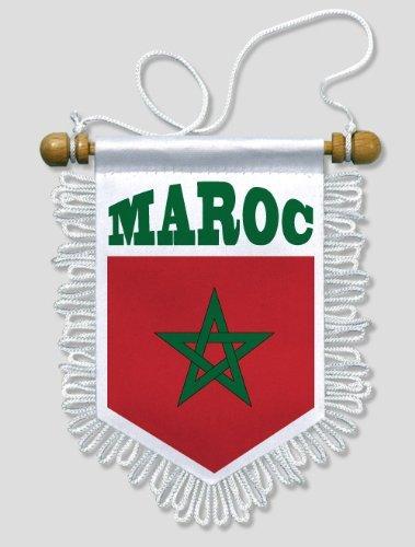 Bandierina per Auto e Pareti Bandiera Marocco 13 x 15 cm KOO Interactive