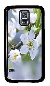 cassette Samsung S5 cover Apple Blossom PC Black Custom Samsung Galaxy S5 Case Cover