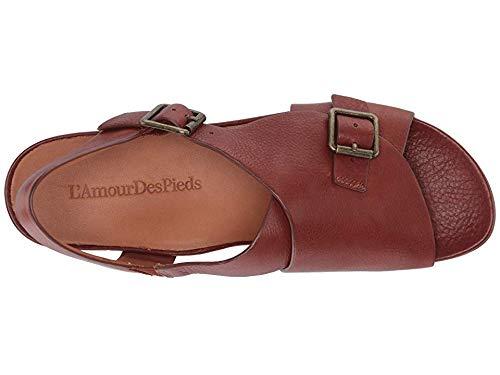 L'Amour des Pieds Women's Dordogne Brandy Leather 6.5 M US by L'Amour des Pieds (Image #1)