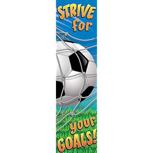 Eureka Soccer Motivational Banner Measures 45 x 12 Great for Classrooms Kids Rooms Parties \u0026 More  sc 1 st  Amazon.com & Door Banners: Amazon.com